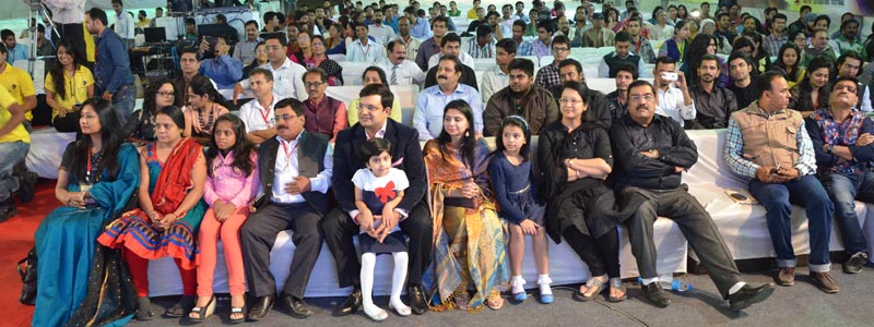 "Mittal Corp Ltd. family has enjoyed ""Indore Literature Festival"" with Mr Karan Mittal"