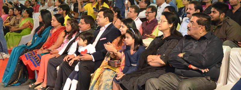 An active participation of Mr Karan Mittal with family @ Indore Literature Festival