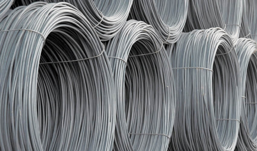 WIRE ROD FROM BLOCK